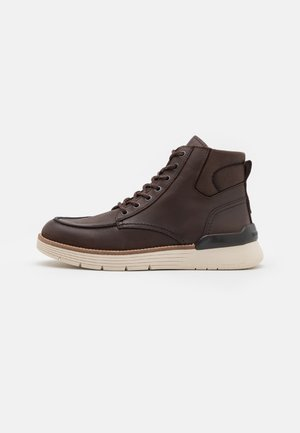 TIM - Lace-up ankle boots - dark brown