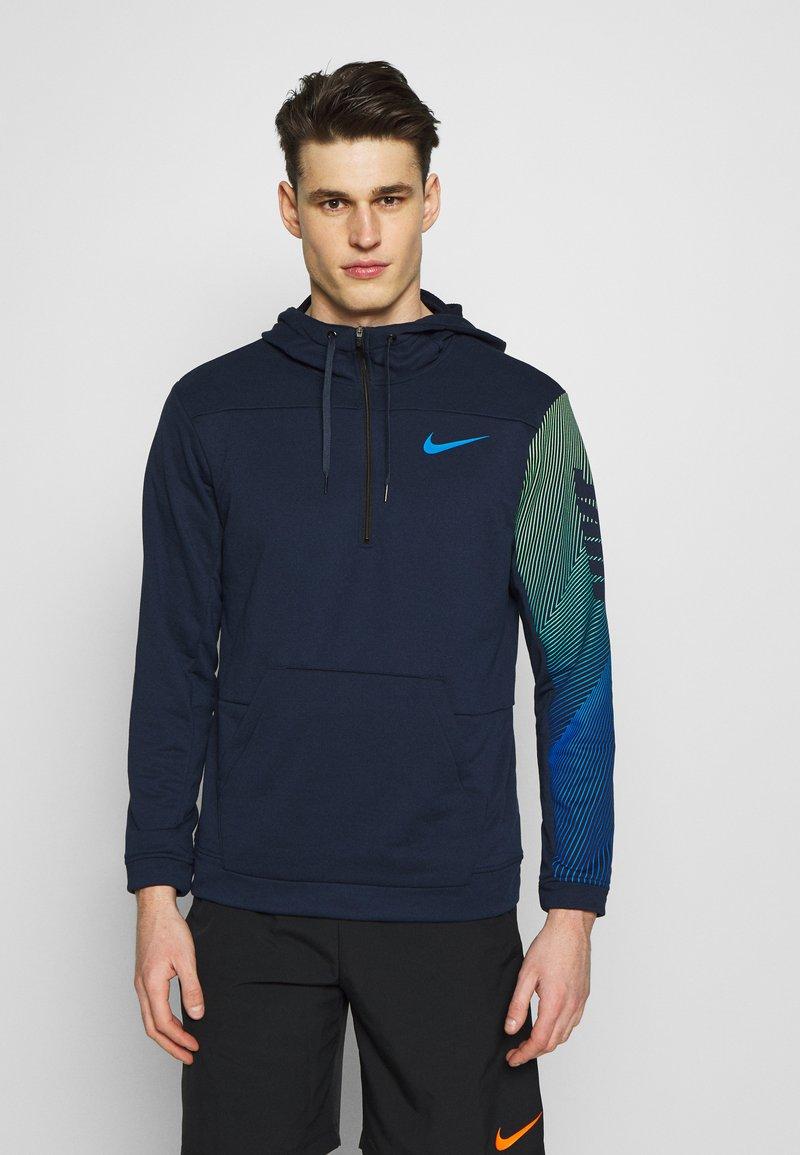 Nike Performance - DRY HOODIE - Luvtröja - obsidian/soar/soar