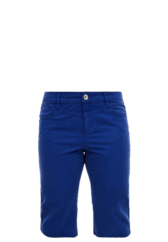 Denim shorts - royal blue