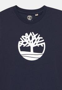 Timberland - SHORT SLEEVES  - Print T-shirt - navy - 2