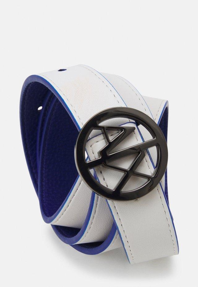 WOMAN'S BELT - Belt - ultramarine/white