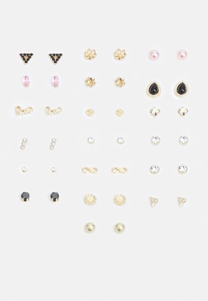 PCALIENA EARSTUDS 20 PACK - Kolczyki - gold-coloured