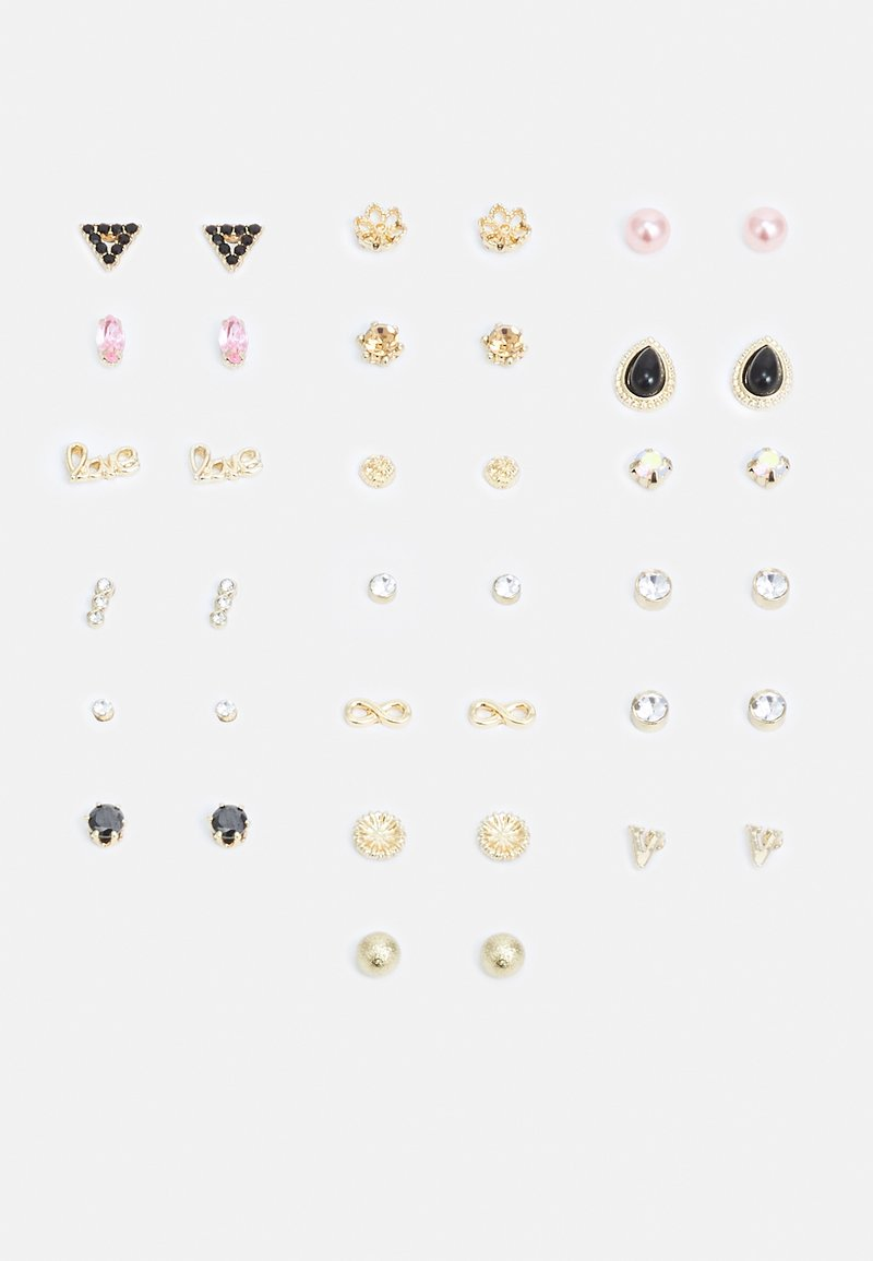 Pieces - PCALIENA EARSTUDS 20 PACK - Earrings - gold-coloured