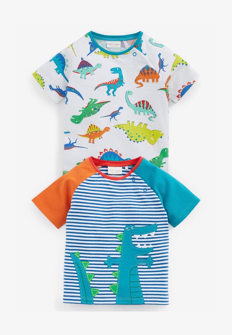 Next - GOTS ORGANIC DINOSAUR STRETCH - T-shirt print - green