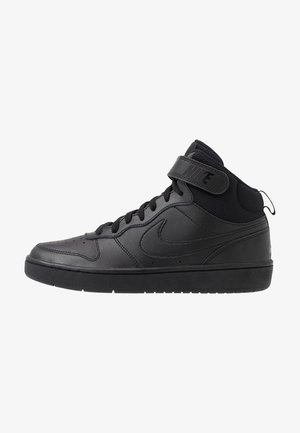 COURT BOROUGH MID 2 UNISEX - Sneakersy wysokie - black
