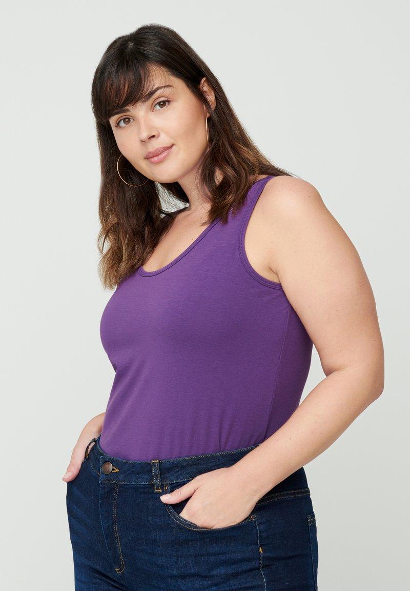 Zizzi - Top - purple