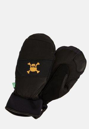 SKULL MITTENS - Gloves - blackout