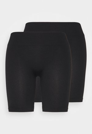 ONLVICKY SEAMLESS 2 PACK - Shortsit - black