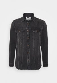 Redefined Rebel - JACKSON JACKET - Shirt - black/grey - 4