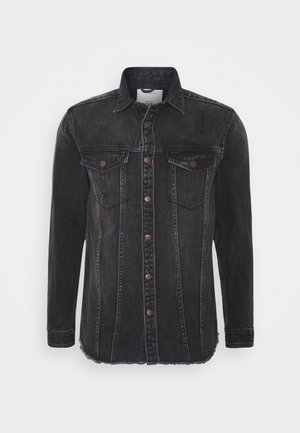JACKSON JACKET - Camisa - black/grey