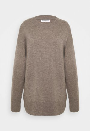 LOOSE FIT - Trui - taupe