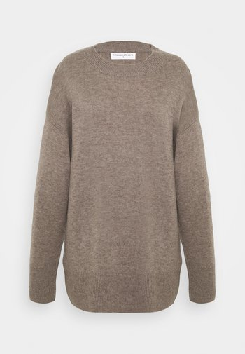 LOOSE FIT - Jumper - taupe