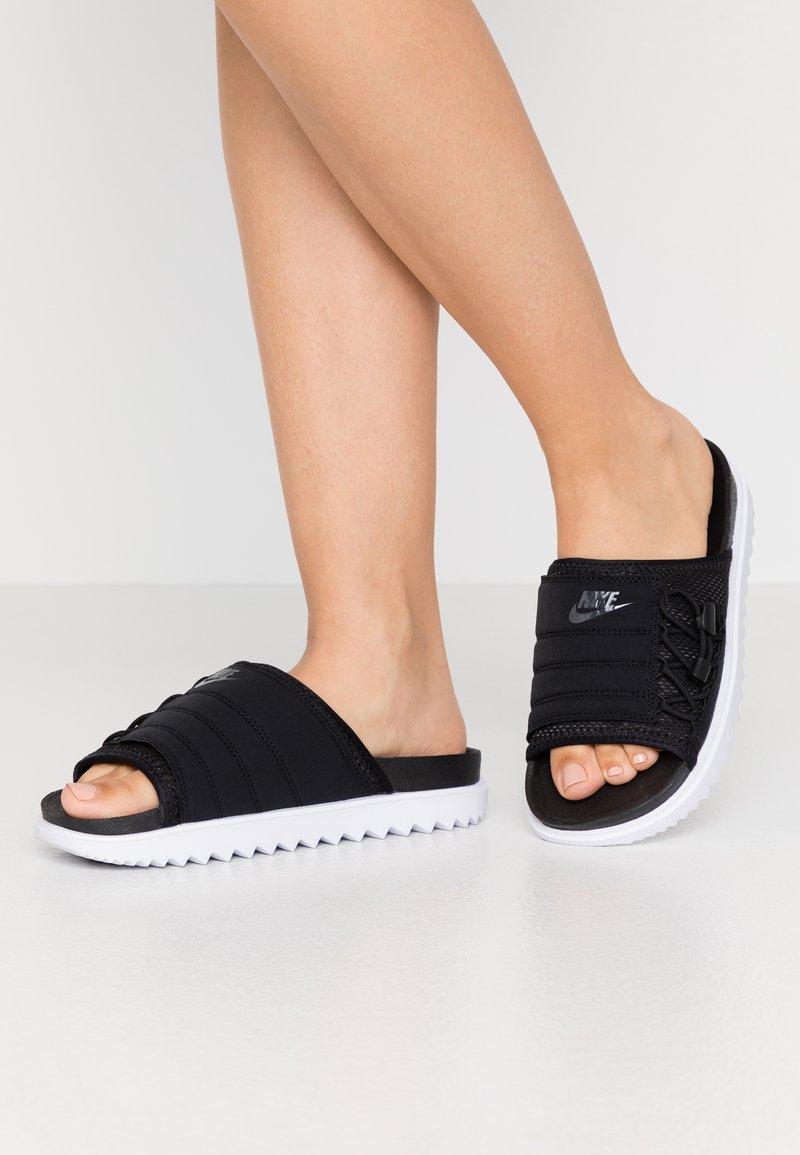 Nike Sportswear - CITY SLIDE - Muiltjes - black/anthracite/white