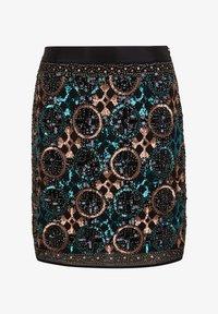 s.Oliver BLACK LABEL - A-line skirt - black aop - 5