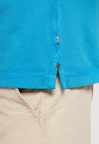 Napapijri - ELBAS - Polo shirt - turquoise - 4