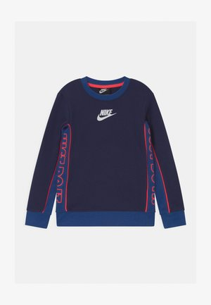 COLOR BLOCKED CREW - Sweater - blue void