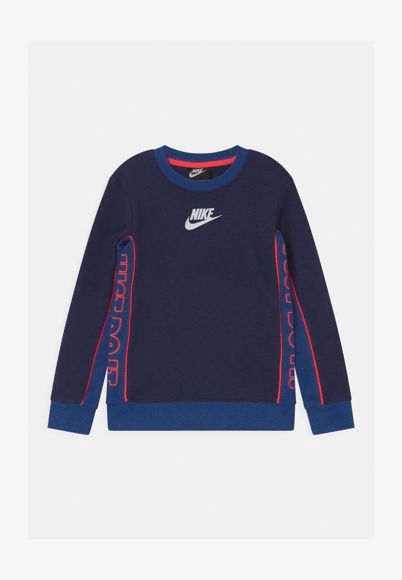 Nike Sportswear - COLOR BLOCKED CREW - Sudadera - blue void