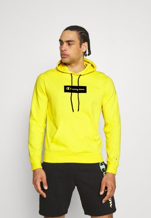 HOODED - Sweatshirt - yellow