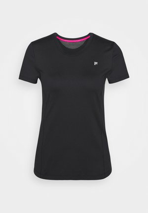 SOPHIE - Basic T-shirt - black