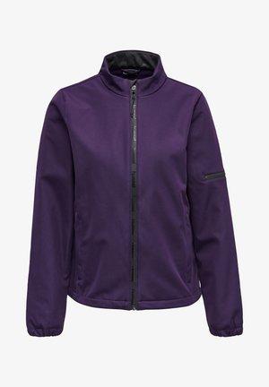 Soft shell jacket - purple