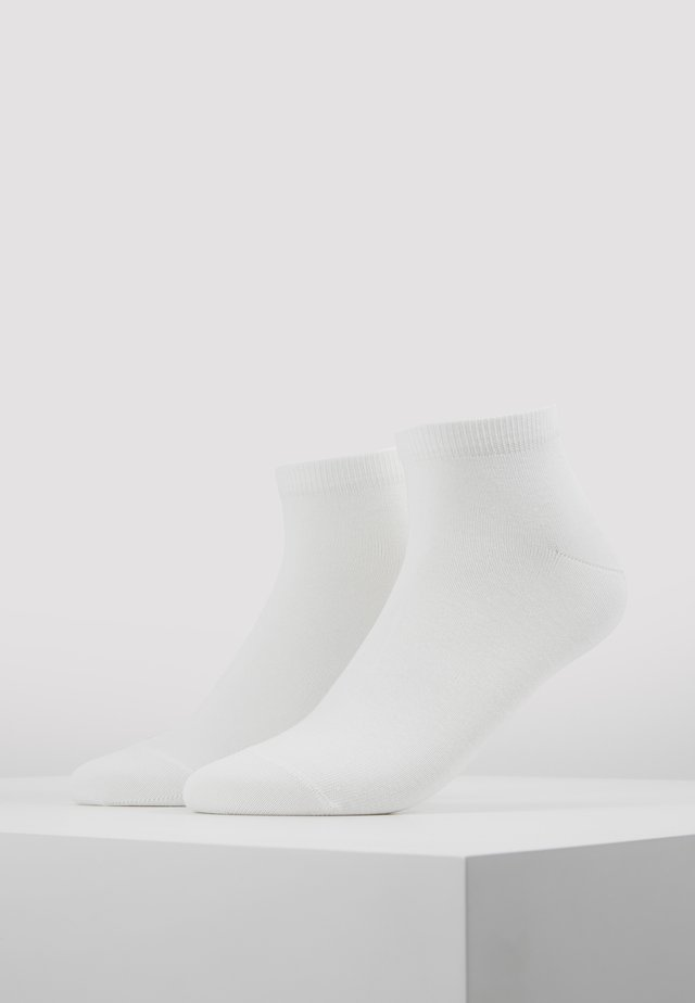 Happy 2-Pack Sneakersocks - Socks - white