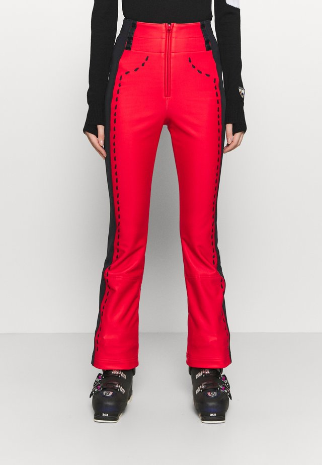 DIXY SOFT - Pantaloni da neve - red