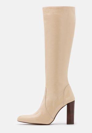 BONZAI - Boots - vernis ivoire