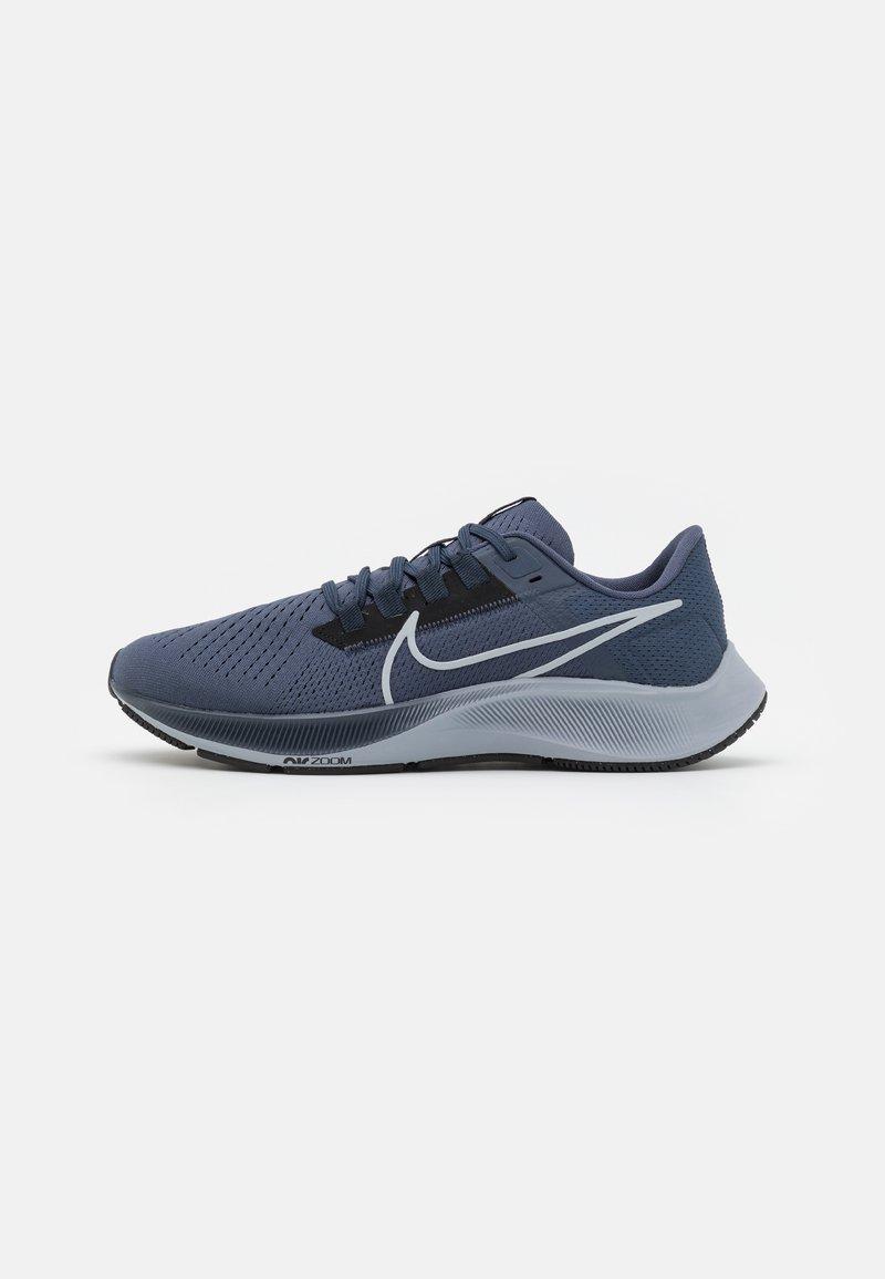 Nike Performance - AIR ZOOM PEGASUS 38 - Neutrala löparskor - thunder blue/wolf grey/black/dark obsidian