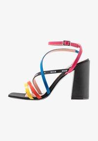MSGM - DONNA WOMANS - High heeled sandals - multicolor/black - 1