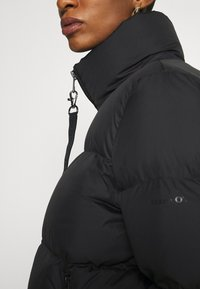 Marc O'Polo - PUFFER JACKET SHORT STAND UP COLLAR ZIPP - Down jacket - black - 4