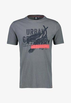 URBAN GREENERY - Print T-shirt - cement grey