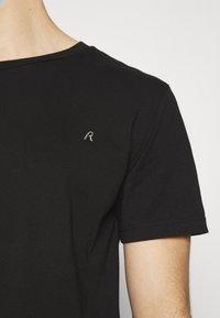 Replay - CREW TEE 3 PACK - Basic T-shirt - chalk melange / black / dark gery melange - 9