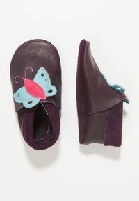 POLOLO - BUTTERFLY - First shoes - aubergine - 0