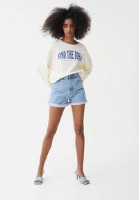 PULL&BEAR - Sweatshirt - white - 1