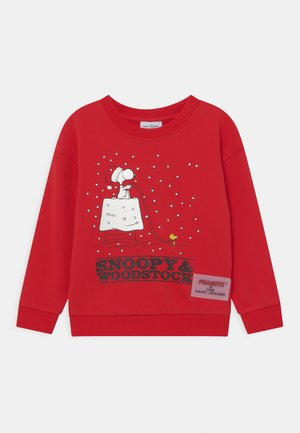 PEANUTS SNOOPY - Mikina - red