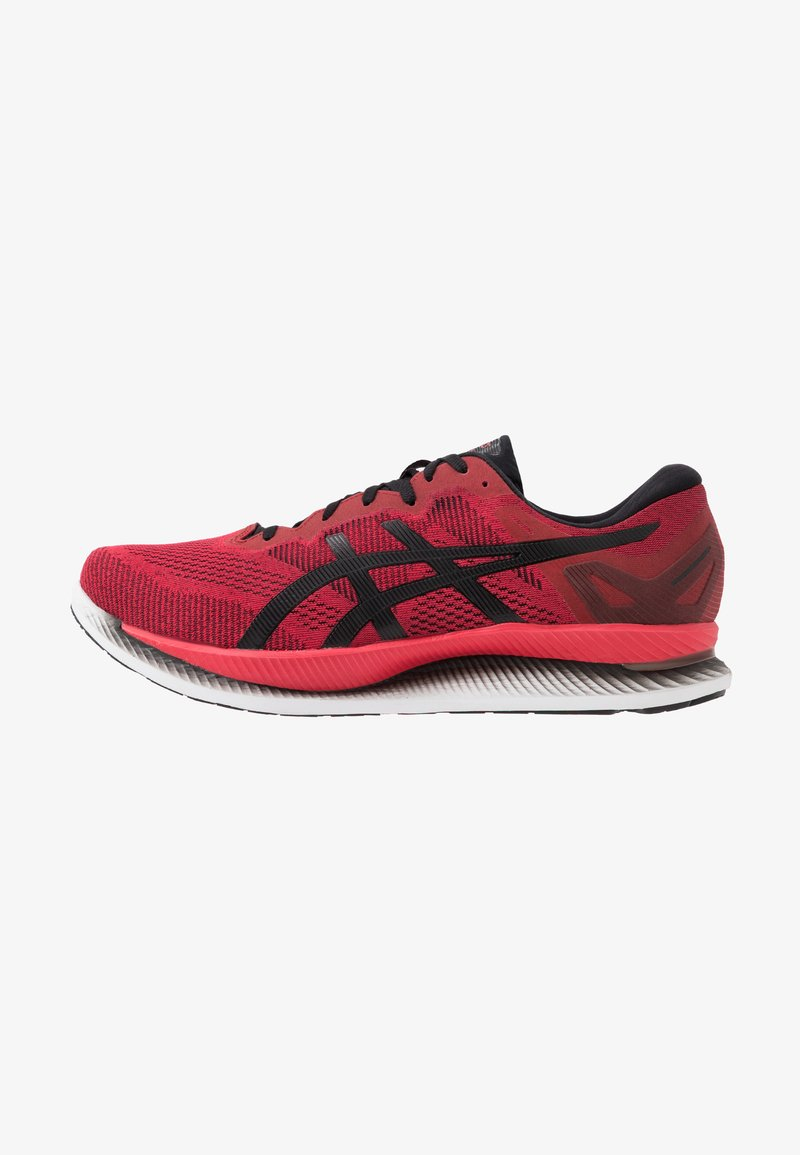 ASICS - GLIDERIDE - Neutral running shoes - speed red/black