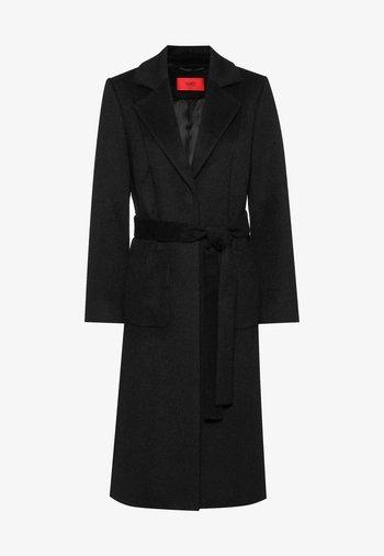 MESUA - Klasický kabát - black