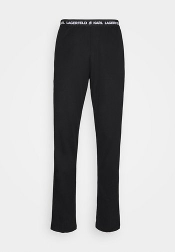 LOGO TROUSER - Pyjama bottoms - black