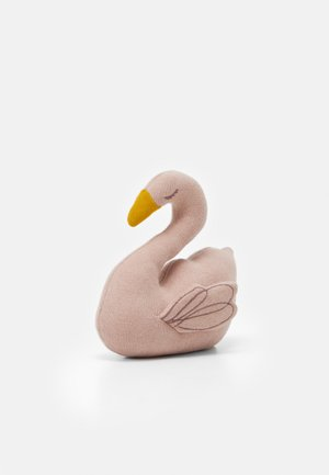 TOY WITH RATTLE CRACKLE LITTLE WATER SWAN UNISEX - Peluche - light pink