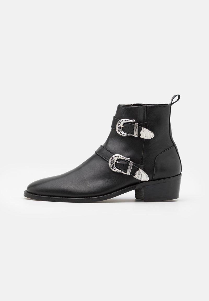 Walk London - HOMBRE CUBAN - Kovbojské/motorkářské boty - black