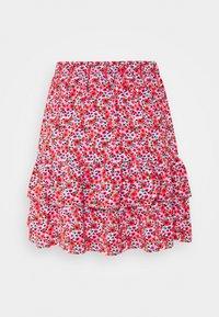 Miss Selfridge - FLORAL MINI SKIRT - A-line skirt - pink - 1