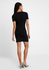 TWINTIP - Shift dress -  black - 2