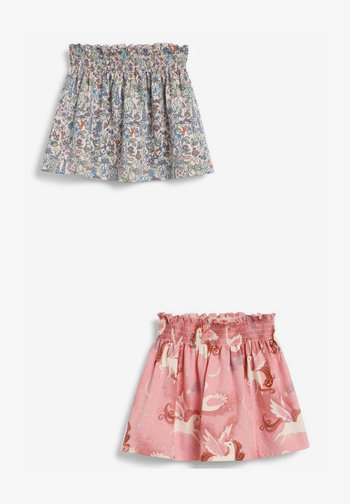 2 PACK  - A-line skirt - pink