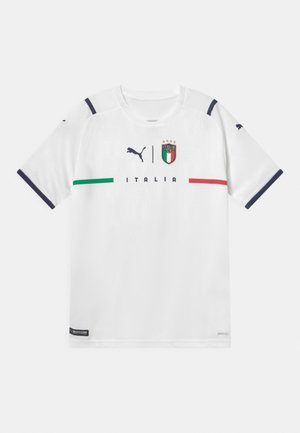 ITALIEN FIGC AWAY REPLICA JR UNISEX - T-Shirt print - puma white/peacoat