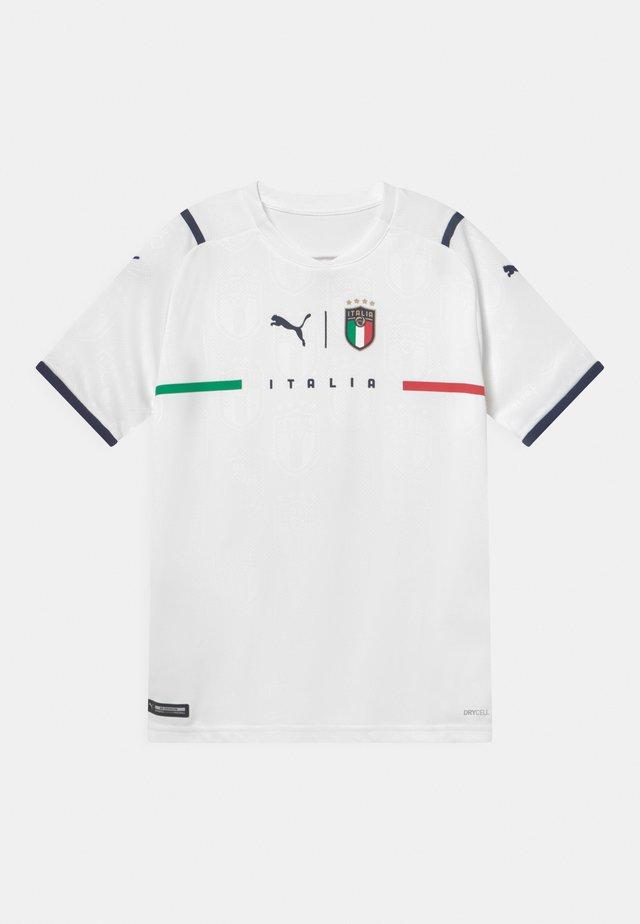 ITALIEN FIGC AWAY REPLICA JR UNISEX - T-shirt print - puma white/peacoat
