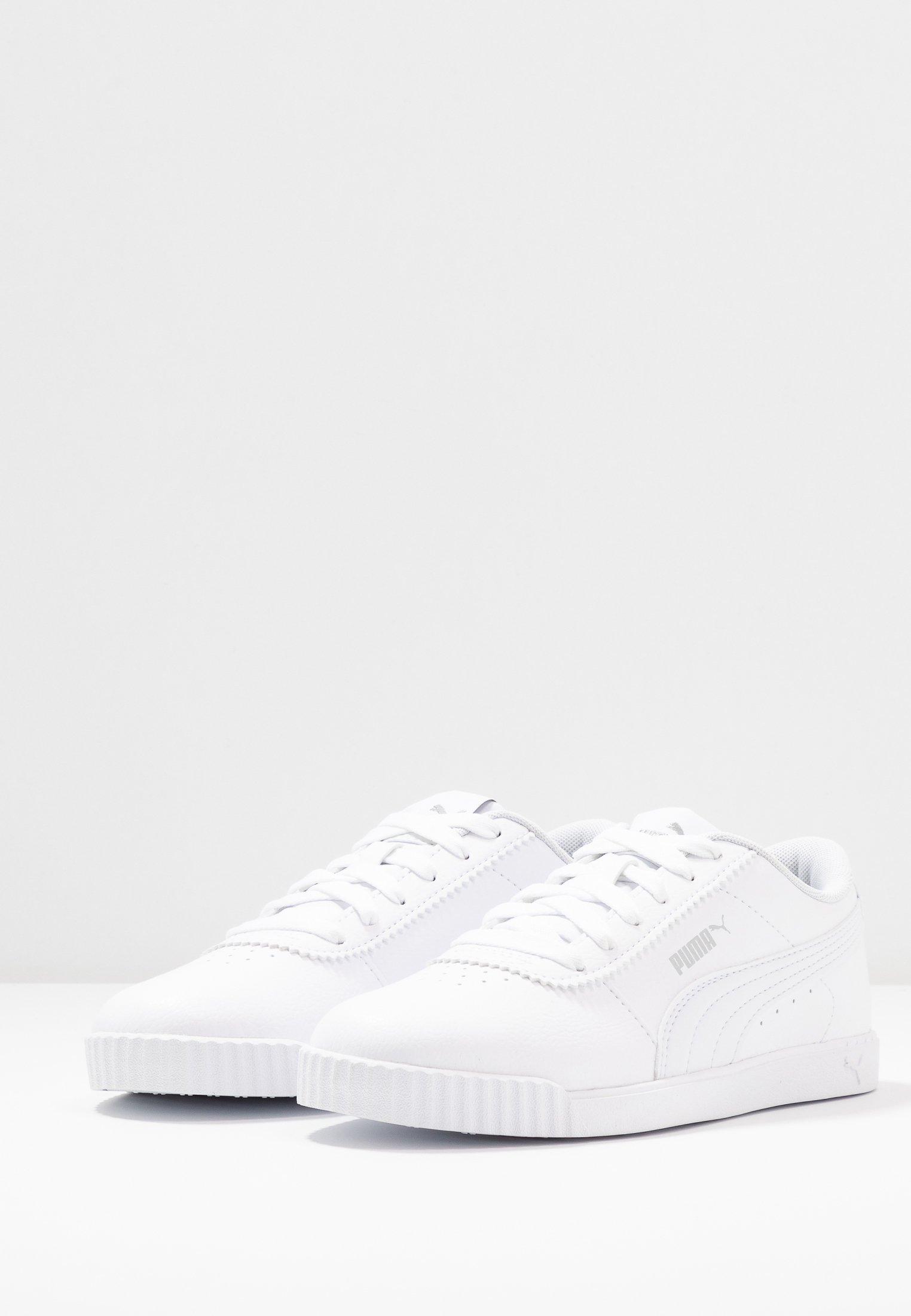 Puma CARINA SLIM FIT - Baskets basses - white/blanc - ZALANDO.FR