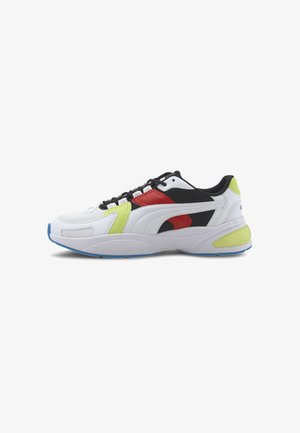 Sneakers basse - white-white-black-red-green