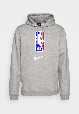 NBA TEAM HOODY - Felpa con cappuccio - dark grey heather