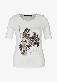 LeComte - PAILLETTEN - Print T-shirt - weiã - 0