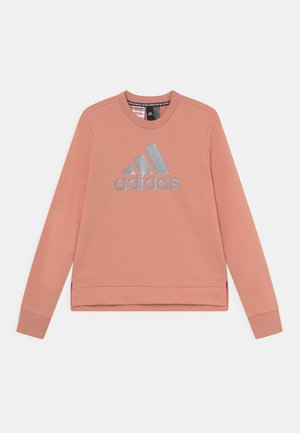 CREW - Sweatshirt - ambient blush/silver metalic